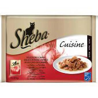 Sheba Selecciòn de carne en salsa Pack 4x85 g