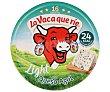 Queso fundido azul light Caja 250 g (16 porciones) La Vaca que ríe