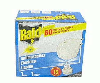 Raid Antimosquitos Aparato Eléctrico Líquido 1u