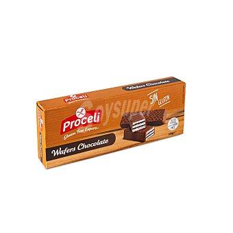 Proceli Wafer chocolate SIN gluten Caja 130 gr