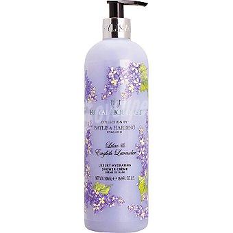 BAYLIS & HARDING Royale Bouquet gel de ducha Lila y Lavanda cremoso dosificador  500 ml
