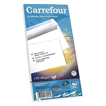 Carrefour Sobres 110x220 con Tira de Silicona 80gr 25 ud