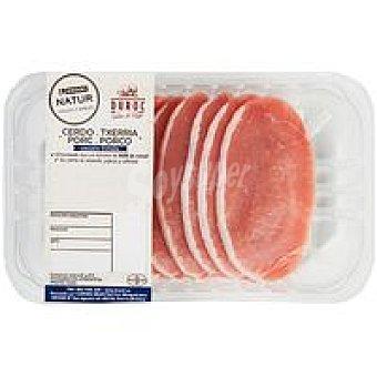 NATUR Duroc Filete de lomo fino de cerdo Eroski Bandeja 300 g