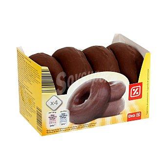 DIA Rosquillas de chocolate Estuche 4 uds 240 gr