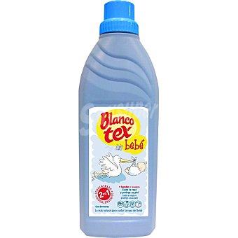 Blancotex Detergente líquido dermoprotector especial ropa de bebé Botella 750 ml