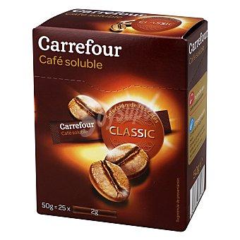 Carrefour Café soluble natural Pack de 25x2gr