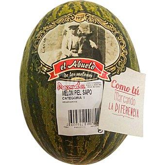 Melones el Abuelo Melón piel de sapo pieza  2 kg peso aproximado