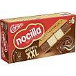 Nocilla sándwich helado sabor nocilla al cacao y nocilla blanca 6 unidades Estuche 840 ml Cornetto Frigo