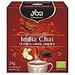 Infusión ecológica India chai (té negro, canela, jengibre) YOG 12 bolsitas. 21,6 g Yogi Tea