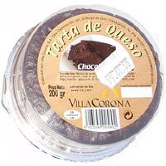 VILLACORONA Tarta de chocolate Tarrina 200 g