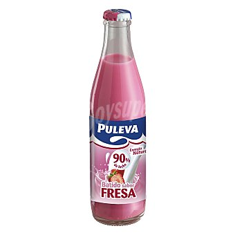 Puleva Batido de fresa tarro de cristal 200 ml
