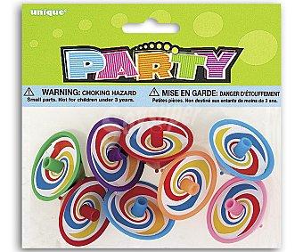 Party Relleno para piñatas, peonzas, trompos 6 unidades