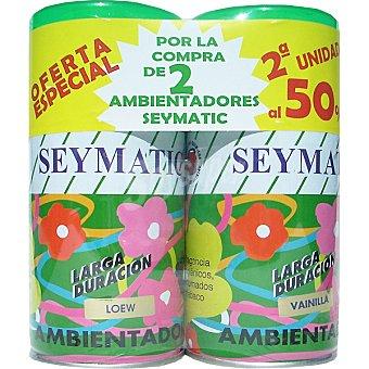 Seymatic Ambientador Duplo pack 2 recambios Pack 2