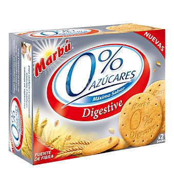 Marbu Galleta 0% azúcares Digestive 650 g
