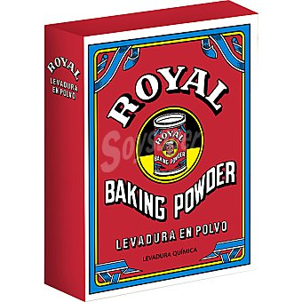 ROYAL levadura Baking Powder en polvo  4x16gr