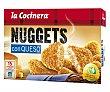 Nuggets de pollo con queso estuche 350 g La Cocinera