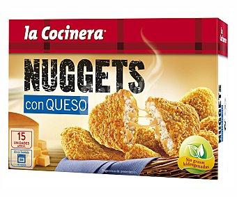 La Cocinera Nuggets de pollo con queso estuche 350 g