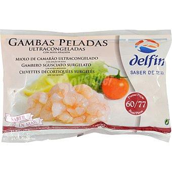 Delfín Gamba pelada 25-40 piezas Bolsa 160 g neto escurrido