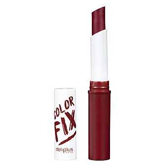 Deliplus Barra labios color fix larga duracion Nº 5 burdeos (acabado mate y sedoso) U
