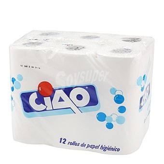 Ciao Papel higiénico 12 rollos