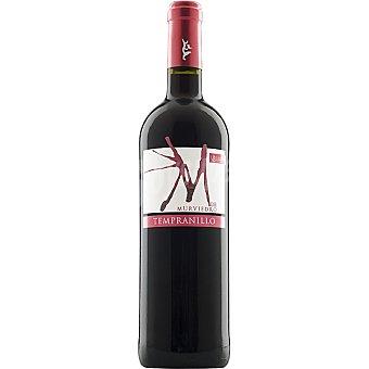 M DE MURVIEDRO Vino tinto tempranillo D.O. Utiel Requena Botella 75 cl