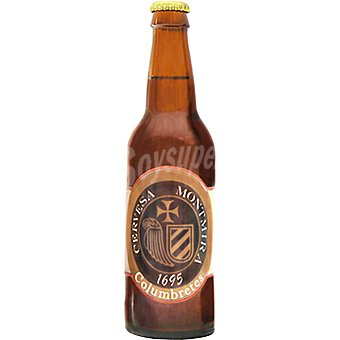 MONTMIRA Columbretes Cerveza rubia artesanal Ale de Castellón botella 33 cl Botella 33 cl