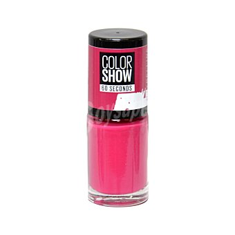 Maybelline New York Esmalte de uñas Color Show 014 Show Time Pink de Maybelline 1 ud