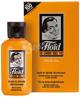 Floïd ultralubricante para barba dura y piel sensible Frasco 50 ml