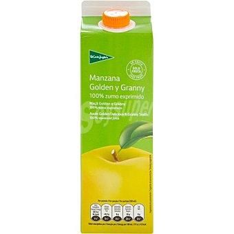El Corte Inglés zumo de manzana 100% fruta envase 1 l