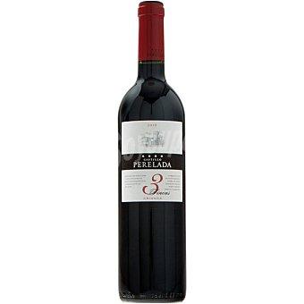 CASTILLO PERELADA 3 Fincas Vino tinto crianza D.O. Empordá botella 75 cl