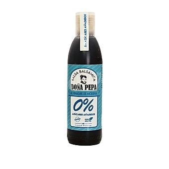 Doña pepa salsa balsámica de vinagre de modena 0% azúcares añadido con stevia Sin Gluten Envase 300 g