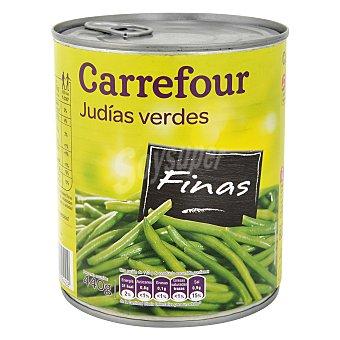 Carrefour Judías verdes finas al natural extra 440 g
