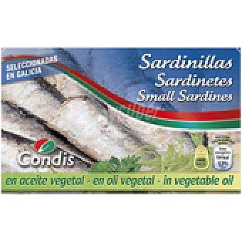Condis Sardinillas aceite 85 GRS