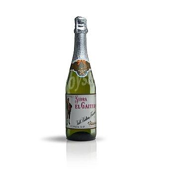 El Gaitero Sidra normal Etiqueta Blanca Botella 70 cl