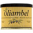 Paté crema de aceitunas negras Lata 200 g neto escurrido OLIAMBEL