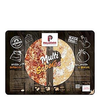 Palacios Pizza barbacoa y 4 quesos 550 g