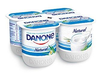 Danone Yogur natural Pack 4 x 120 g