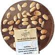 Turrón de chocolate y almendras Envase 200 g CALIDAD ARTESANA