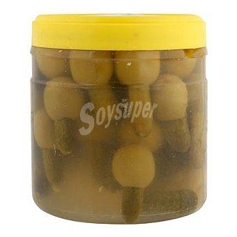 Gordal Aceituna con pepino Tarrina de 320 g