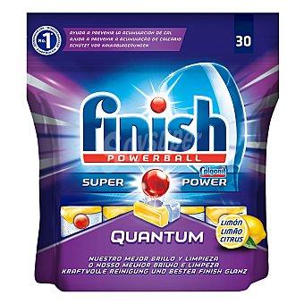 Finish Lavavajillas máquina quantum Limón 30 pastillas