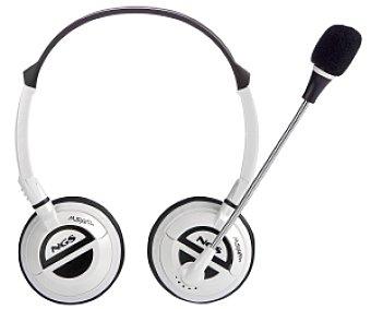 Ngs Auriculares tipo Diadema SX6 PRO Blanco con cable y micròfono