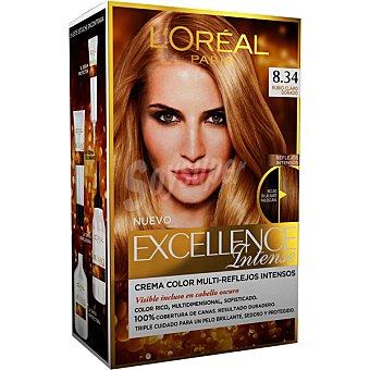 Excellence L'Oréal Paris Tinte intense nº 8.34 Rubio Claro Dorado 1 unidad