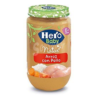 Hero Baby Tarrito de arroz con pollo Natur desde 6 meses  tarrito 235 g