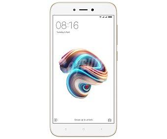 """Xiaomi Smartphone libre 12,7cm (5"""") Quad-Core, 2GB Ram, 16GB, microsd, 13Mpx, Android 7.0 Redmi 5A blanco"""