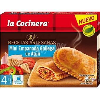 La Cocinera Mini empanada gallega de atún Recetas artesanas estuche 320 g 4 unidades