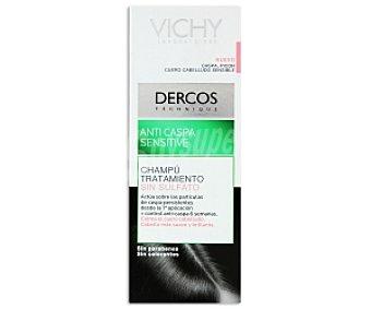 Vichy Champú anticaspa Sensitive, sin sulfato 200 Mililitros