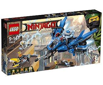LEGO Ninjago Juego de construcciones con 876 piezas Jet del rayo, Ninjago 70614 lego