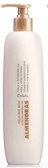Deliplus Leche corporal nutritiva almendras (dosificador) Botella 400 cc