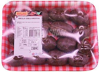 Martinez Morcilla cebolla fresca Bandeja 600 g peso aprox.