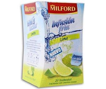 MILFORD Infusión fría de lima 20 unidades (86 gramos)